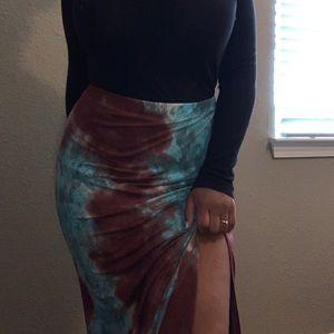 Tilly's Full Tilt Maxi Skirt